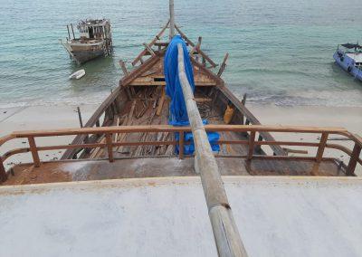 Ratu Ombak deck view
