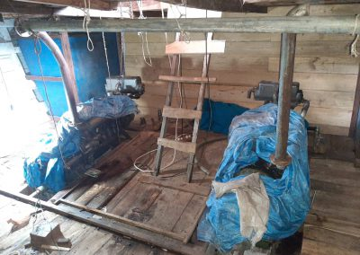 Ratu Ombak Engine Room